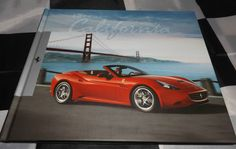 FERRARI CALIFORNIA HARDBACK BROCHURE PROSPEKT BOOK 2010 ENGLISH & ITALIAN…