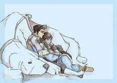 Naga always bringing Mako and Korra together