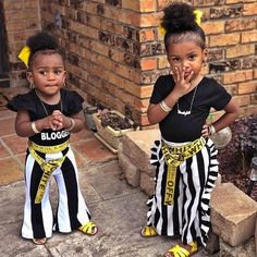 Credit to Melissa Williams. Credit to Melissa Williams. Black Kids Fashion, Cute Kids Fashion, Little Girl Fashion, Child Fashion, Cute Little Girls Outfits, Toddler Girl Outfits, Kids Outfits, Baby Outfits, Cute Mixed Babies