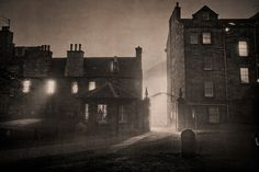 """Edinburgh - Dead of Night"" by Laurence Winram"