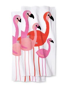 Target Flamingo Beach Towel.