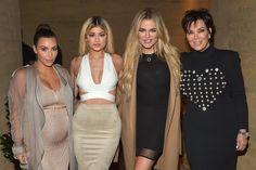 Kim Kardashian Wes, Kylie Jenner, Khloe Kardashian