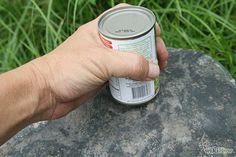 Learn to Open a Can Without a Can Opener | Bushcraft Survival Skills: A Great Mindset for Resourcefulness and Preparation