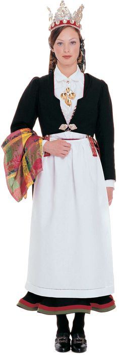 Wings of Whimsy: Traditional Norwegian Bride - Vest Agder