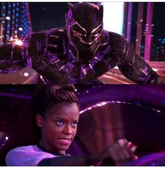 """1,685 Likes, 3 Comments - Marvel (@marvel_avengers_fans) on Instagram: """"T'challa and Shuri New Black panther trailer car chase scene, link in my story✌   ⬇===-====-===⬇…"""""""