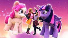 Май литл пони: Москва для детей! Подружка Настя, Искорка (little pony) и...