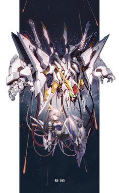 Arte Gundam, Gundam Art, Mecha Suit, Frame Arms Girl, Mecha Anime, Transformers Art, Flash Art, Gundam Model, Animal Ears