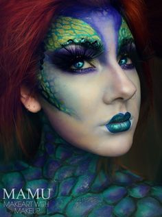 Mythical Mermaid/Fairy Creature Makeup Transformation - Glam Express