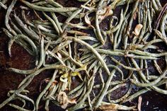 Slow Roasted Green Beans
