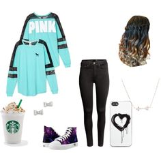 Lancaster outfit by djengar on Polyvore featuring Victoria's Secret, H&M, Marc by Marc Jacobs and Zero Gravity
