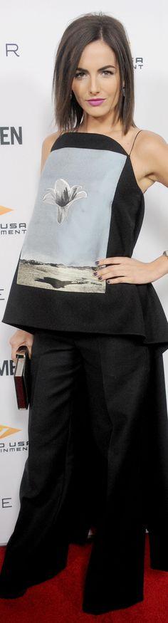 Camilla Belle in Dior at the premiere of Cavemen.