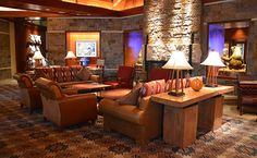 The perfect place to kick back at the Four Seasons Resort and Residences in Jackson Hole