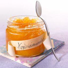 Tee itse maistuvaa marmeladia appelsiineista Hillosokerilla tai Hillo-marmeladisokerilla. W 6, No Bake Desserts, Preserves, Jelly, Salsa, Cooking Recipes, Pudding, Sugar, Canning