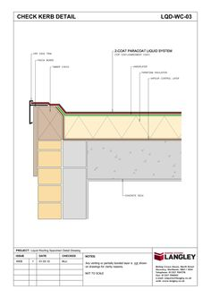 Detail Drawings : Langley Waterproofing Systems Limited : A second to none Waterproofing partner
