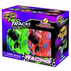 Mindscope Neon Glow Twister Tracks Neo Tracks LIGHT UP (5 LED lights) VEHICLES: RACE SERIES >>> Want to know more, click on the image. (This is an affiliate link) #ToyRemoteControlPlayVehicles