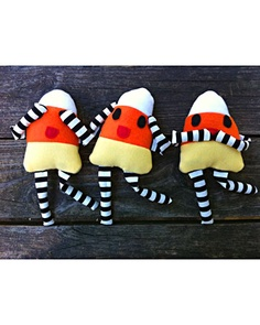 Three Wise Candy Corns, a.k.a, See, Hear and Speak no Evil...