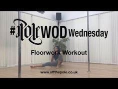 Floorwork Workout   PoleWOD - YouTube