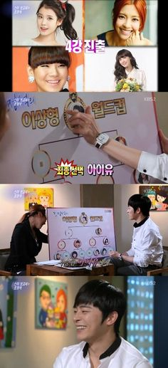 IU, CL, Lee Yoon Ji, and Lee Na Young  Which celebrity is Jo Jung Suks ideal type?