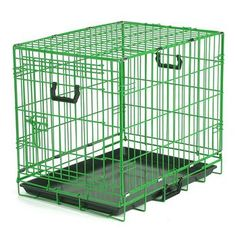 Crate Appeal Wire Dog Crate - Green