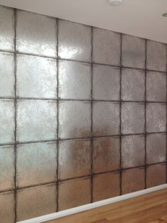 Wallpaper from Cole and Sons. Silver foiled on a non-woven base.