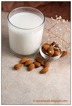 Homemade Almond Milk (Raw)