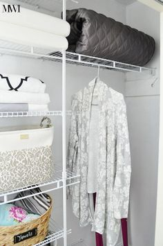 DIY Closet Makeover for $100