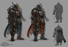 LOTF demonic warrior by len-yan on deviantART