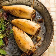 Gefüllte Tintenfische Rezept | Küchengötter