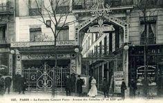 La fauvette concerts. Avenue des gabellins.1900