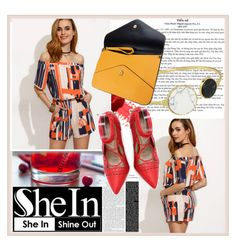 """""""SHEIN"""" by damira-dlxv ❤ liked on Polyvore"""