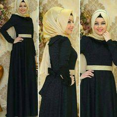 Hijab Fashion, Women's Fashion, Dresses, Style, Vestidos, Swag, Fashion Women, Womens Fashion