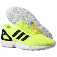 Nouvelle collection printemps-été 2014 chaussures Adidas - ZX Flux Shoes Electric Yellow