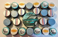 muscle car cakes!! - Cake by  Pink Ann's Cakes