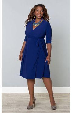 http://www.curvety.com/kiyonna-essential-wrap-dress-in-blue-p591