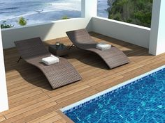 Getting The Right Poolside Furniture For Your Home Lazy Boy Outdoor Deck