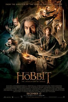 The Hobbit: Desolation of Smaug. No one knows how amusing I find this movie, only because Martin Freeman is Bilbo and Benedict Cumberbatch is Smaug. The Sherlock fandom knows what I'm talking about.