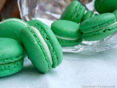 Interludes Gourmands: # Macarons à la Menthe #