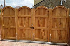 Bi folding Gates - Arch Top