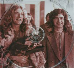 ROBERT PLANT AND JIMMY PAGE~ LED ZEPPELIN