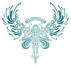 Tatto ideas!!! Blue Angel