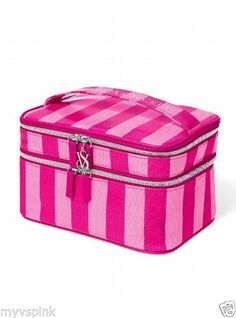 $70 NWT VICTORIA'S SECRET Supermodel Train Case COSMETIC BAG BEAUTY MAKE UP http://stores.ebay.com/VSPINK-STORE