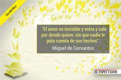 Quince frases de Cervantes en el día del idioma | ELESPECTADOR.COM