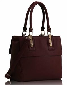 KCMODE Ladies Designer Burgundy Red Fashion Doctors Bag Leather Style Office Work Handbag KCMODE, To BUY or SEE just CLICK on AMAZON right here http://www.amazon.com/dp/B00HZOIF3S/ref=cm_sw_r_pi_dp_sW0stb0EA76RZJXP