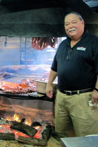 Scott Roberts, owner of Salt Lick BBQ, in Driftwood, Texas