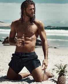 LMM - Loving Male Models — Ben Dahlhaus by Esra Sam for Vorn Magazine Hairy Men, Bearded Men, Ben Dahlhaus, Hair And Beard Styles, Long Hair Styles, Hommes Sexy, Man Bun, Man Hair Bun, Shirtless Men