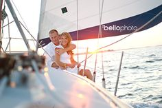 Scituate engagement session, Cape Cod photographers, couple on sailboat