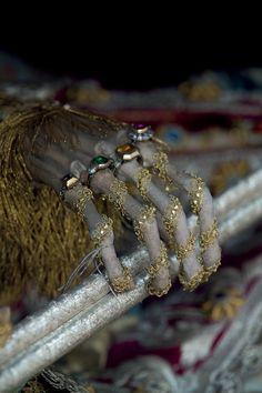 Detail of the hand of St. Valentin in Bad Schussenreid, Germany, one of a number of Katakombenheiligen (Roman catacombs saints) named for the popular Italian saint. (copyright Paul Koudounaris)