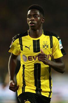 Ousmane Dembele of Dortmund during DFL Supercup 2016 match between Borussia…