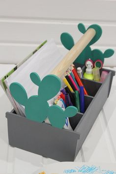 Items similar to Cactus Wooden Pencil Holder - Wooden Pen Holder - Wood Desk Organizer - Wood Pencil Holder - Pencil Box - Wooden Pencil Box - Pencil Holder on Etsy Wooden Pen Holder, Wood Pencil Holder, Wooden Pencil Box, Pencil Boxes, Kids Desk Organization, Drawing Desk, Cardboard Box Crafts, Funny Home Decor, Wood Desk