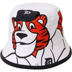 MLB New Era Detroit Tigers 2015 Kids Mascot Power Hat